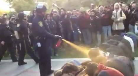 Watch: Shocking Video Of Police Pepper Spraying UC Davis Students | Criminal Justice in America | Scoop.it