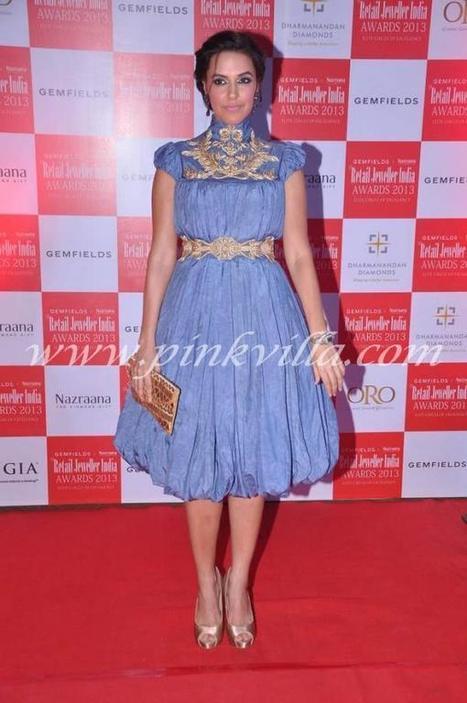 صور اليامي جوتام و نيها دوبيا في Retail Jeweller India Awards   دريم بوكس   Scoop.it