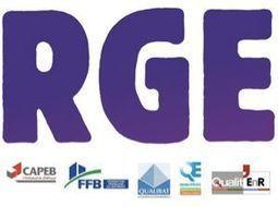 Les organisations du bâtiment proposent des mesures de simplification et d'harmonisation du label RGE | D'Dline 2020, vecteur du bâtiment durable | Scoop.it