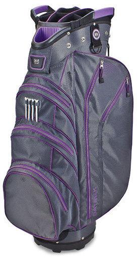 Datrek Ladies/Men's Lite Rider Cart Bags - Charcoal & Purple Lori's Golf Shoppe   Ladies Designer Golf Accessories   Scoop.it