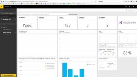 PowerBI et VSTS : enfin du reporting simple ! - Cellenza Blog | News de la semaine .net | Scoop.it