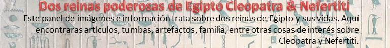 Dos reinas poderosas de Egipto -Cleopatra vs. Nefertiti-