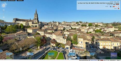 Visite virtuelle - La tour du Roy de Saint-Emilion domine le paysage  -  France par Pascal Moulin | moulin360panoramic | Scoop.it