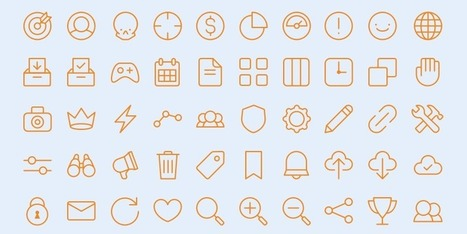 Íconos que puedes usar ya en tus diseños | Educacion, ecologia y TIC | Scoop.it