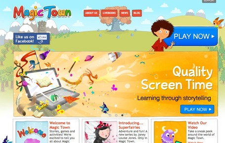 Magic Town | Edtech PK-12 | Scoop.it