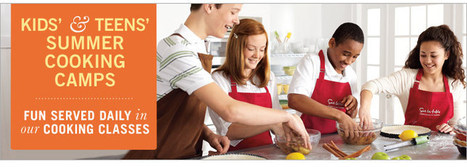 Cooking Classes | Summer Camps for Kids & Teens | Sur La Table | places to take cooking classes | Scoop.it