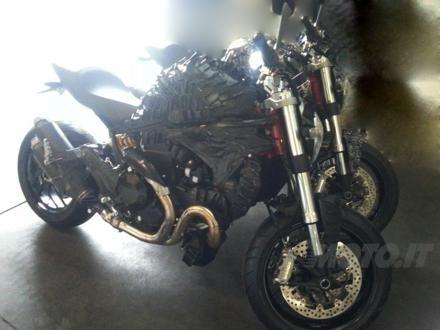 Spy Photos - The Next Ducati Monster 2014 - Moto.it | Desmopro News | Scoop.it
