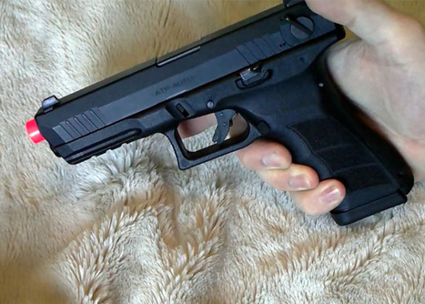 KWA ATP Auto GBB Pistol Test | Popular Airsoft | Airsoft Showoffs | Scoop.it