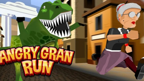 Download Angry Gran Run for PC | Technology benefits Life | Scoop.it