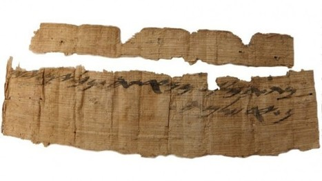 Oldest Hebrew mention of Jerusalem found on rare papyrus from 7th century BCE | Jewish Education Around the World | Scoop.it