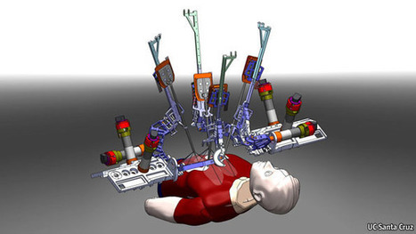Surgical robots: The kindness of strangers | Robots and Robotics | Scoop.it