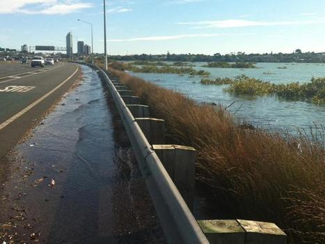 Motorists warned over Auckland king tides - TVNZ | Earth, Moon, and Sun Relationships | Scoop.it
