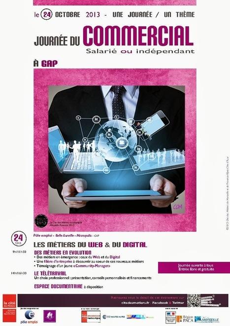 Journée du commercial, cité des métiers à Gap   ID, innovations & Outils collaboratifs   Scoop.it