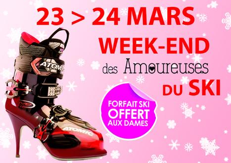 Week-end des Amoureuses du ski à Pra Loup | World tourism | Scoop.it