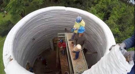 Bon marché, facile à construire et rapide: voici la maison earthbag | Construcción | habitat alternatif | Scoop.it