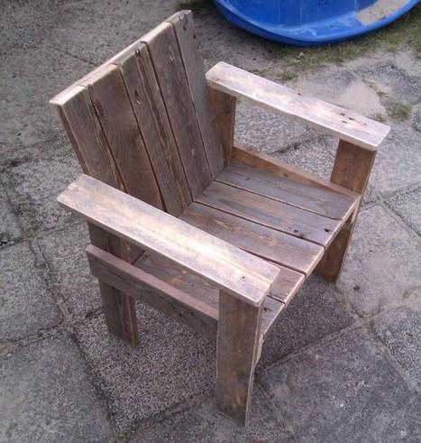 Little child chair | 1001 Pallets | DIY | Scoop.it