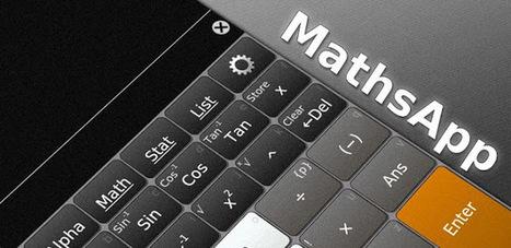 MathsApp Scientific Calculator v1.2 APK Free Download | android app | Scoop.it