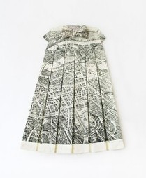 Dresses made from old maps | Random Ephemera | Scoop.it