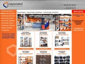 Rayonnage semi lourd Rayometal | Rayonnage | Scoop.it