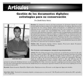 [#EPItecarios] Gestión de los documentos digitales: estrategias para su conservación. | DIRECTORIOS Y RESTAURACIÓN DE DOCUMENTOS | Scoop.it