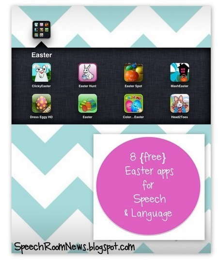 Speech Room News: 8 Easter Apps for the Speech Room | Communication and Autism | Scoop.it