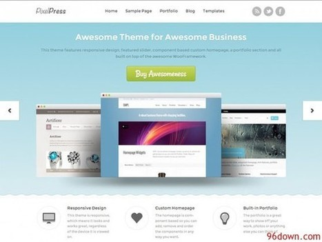 Woothemes Pixelpress v1.4.6 for Wordpress | Download Free Nulled Scripts | SEO | Scoop.it
