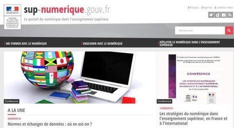 Sup-Numérique. Portail dédié au numérique dans l'enseignement supérieur – Les Outils Tice | Ressources & Médiation | Scoop.it