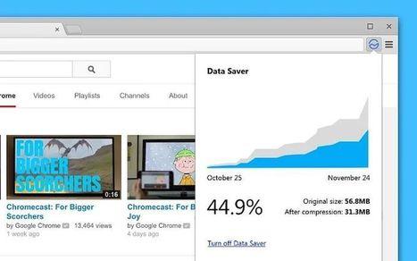 Google lanza una extensión para Chrome que ahorra ancho de banda | El rincón de mferna | Scoop.it