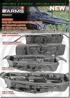 New rifle bag and more from Cybergun-ARNIE'S AIRSOFT NEWS | Thumpy's 3D House of Airsoft™ @ Scoop.it | Scoop.it