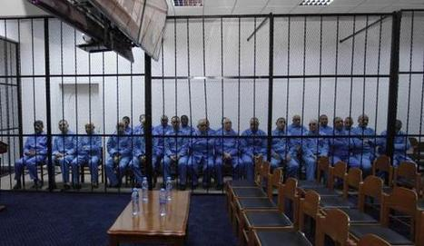 Libya starts trial of ex-Gaddafi officials, sons absent | Reuters #Saif #Libya #ICC | Saif al Islam | Scoop.it