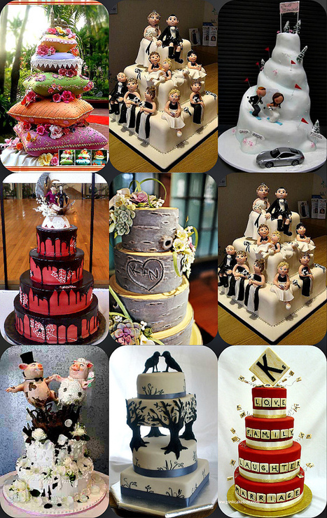 Unique Wedding Cakes|Uniquely You Planning On How To Plan A Perfect Wedding | Desserts | Scoop.it