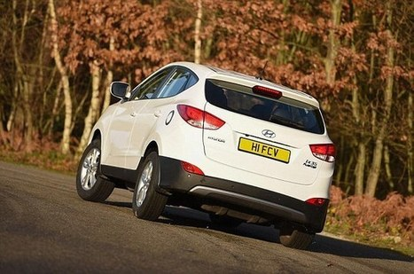 We try Hyundai's £50k hydrogen fuel cell SUV to see if it's the future | Hydrogen powered cars | Scoop.it