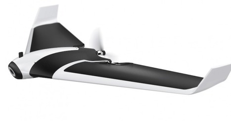 Parrot's fixed wing Disco drone takes flight next month for $1,300 | Heron | Scoop.it
