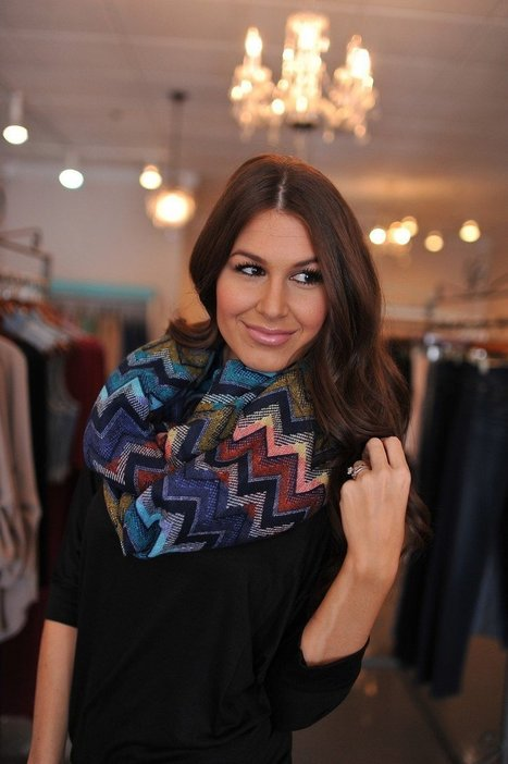 How To Wear Your Infinity Scarf? | Fashion | Scoop.it