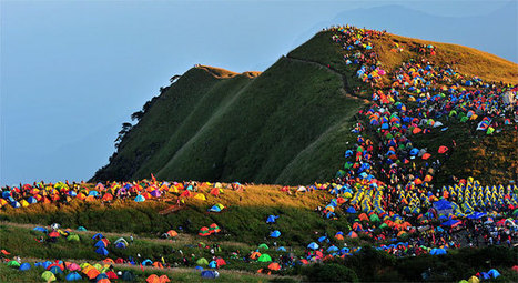 Camping Festival in China with 15.000 tents | Where Cool Things Happen | Scoop.it