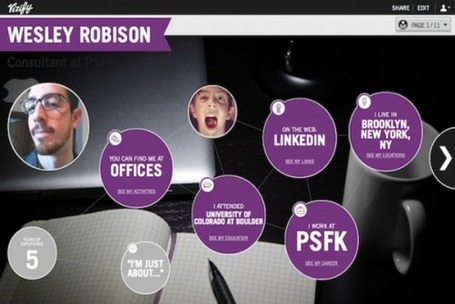 Social Media Profiles Turned Into Resumé Infographics [Future Of Work] | Infographics Fun | Scoop.it