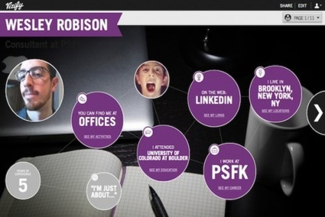 Social Media Profiles Turned Into Resumé Infographics [Future Of Work] | Advertising Production | Scoop.it