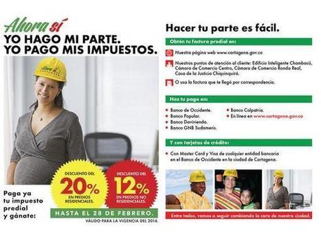 Descuentos en pago del Predial hasta el 28 de febrero | Cartagena de Indias - 1º edición de boletín semanal | Scoop.it