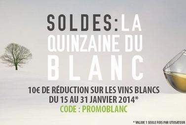 Soldes : c'est la quinzaine du blanc ! - Magazine du vin - Mon Vigneron | Actualités du Vin | Scoop.it