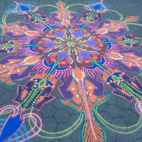Sand Painting September 17th 2016 | Sand Paintings | Scoop.it