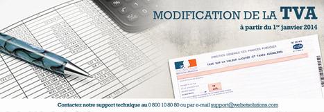 Modification de la TVA au 1er janvier 2014 | Infos E-commerce et actus de l'agence | Scoop.it