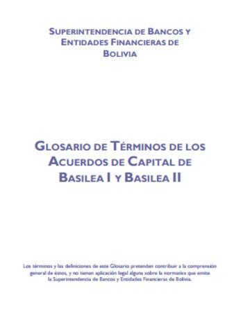 (ES) (EN) (PDF) - Glosario de términos de los acuerdos de capital de Basilea I Y Basilea II | SBEF | Glossarissimo! | Scoop.it
