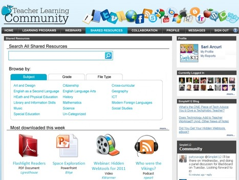 Teacher Learning Community « | TPACK in het onderwijs | Scoop.it
