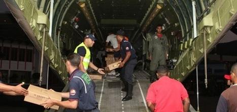 Avión venezolano llega a Nicaragua con ocho toneladas de ayuda humanitaria para damnificados por terremoto | NTN24 | Terremoto en Nicaragua | Scoop.it