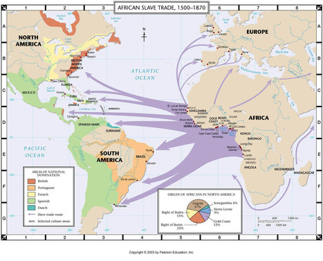 The Transatlantic slave trade | The Renaissance and Slave Trade | Scoop.it
