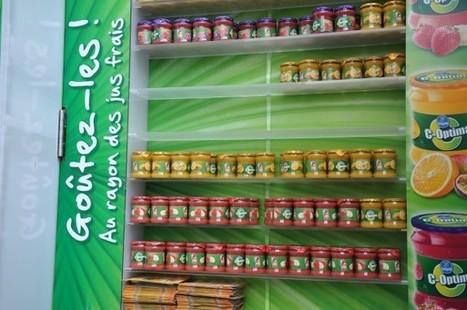 Danone Chiquita fruits transforme les abribus en frigo   streetmarketing   Scoop.it