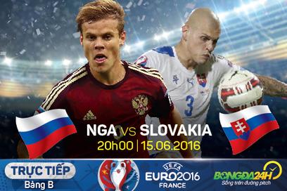 Trực tiếp Nga vs Slovakia diễn ra vào 20h00 hôm nay 15/06   Trang tin tức   Scoop.it