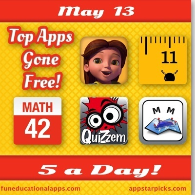 Best Apps for kids Gone Free- May 13 - Fun Educational Apps for Kids | Best Apps for Kids | Scoop.it