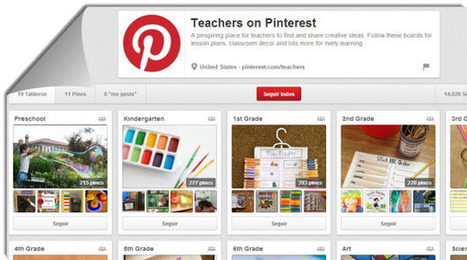 Teachers on Pinterest, un nuevo espacio para compartir ideas educativas | ALL ABOUT PINTEREST WITH PHILIPPE TREBAUL ON SCOOP.IT | Scoop.it