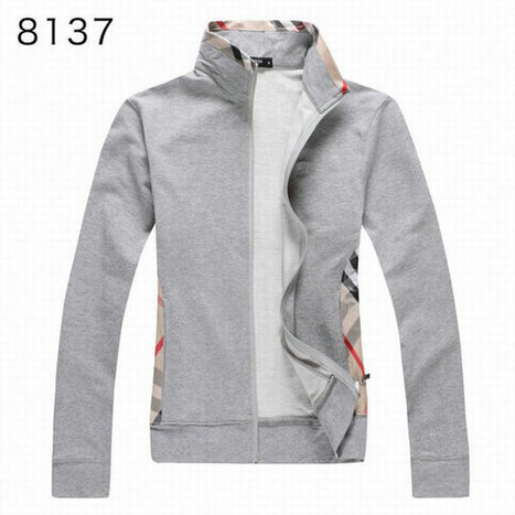 Burberry Long Sleeve Fleece Coats Sports Hoody For Girl Grey | Burberry Shirts mens and  womens | Scoop.it